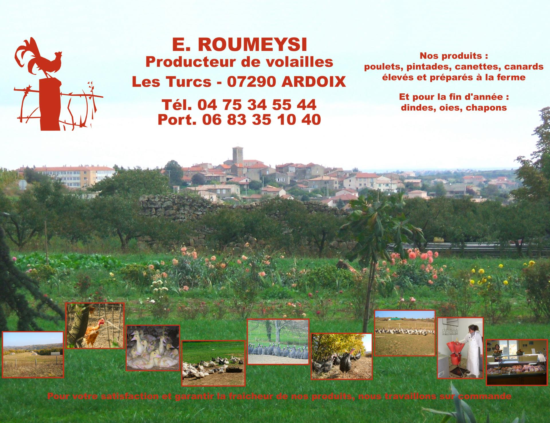 Eric Roumeysi - Producteur de volailles